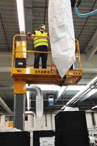 HVAC - filtracne rukavy na vzduchotechniku - carac